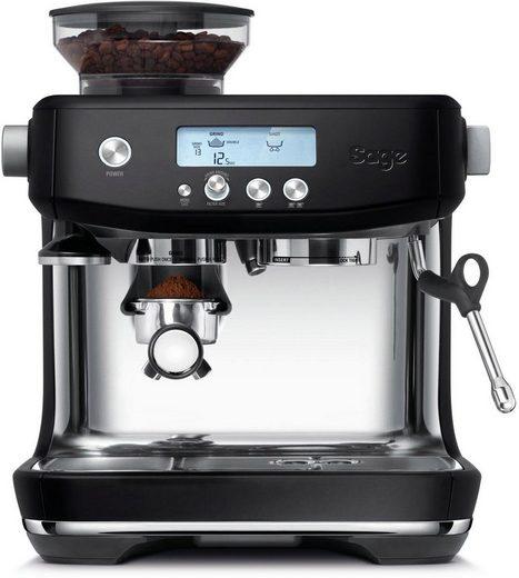 Sage Espressomaschine »The Barista Pro, SES878BTR4EEU1«, Mattschwarz