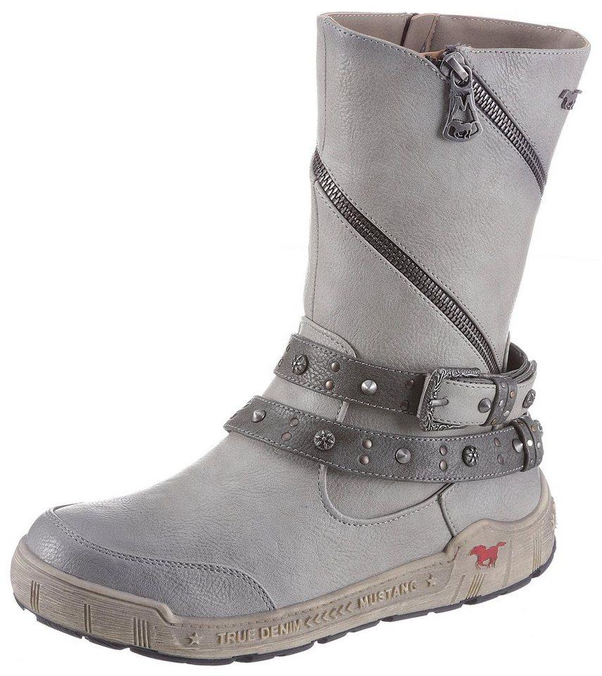 new style cd224 5658f Mustang Shoes Winterstiefel mit aufwendigen Zierelementen online kaufen |  OTTO