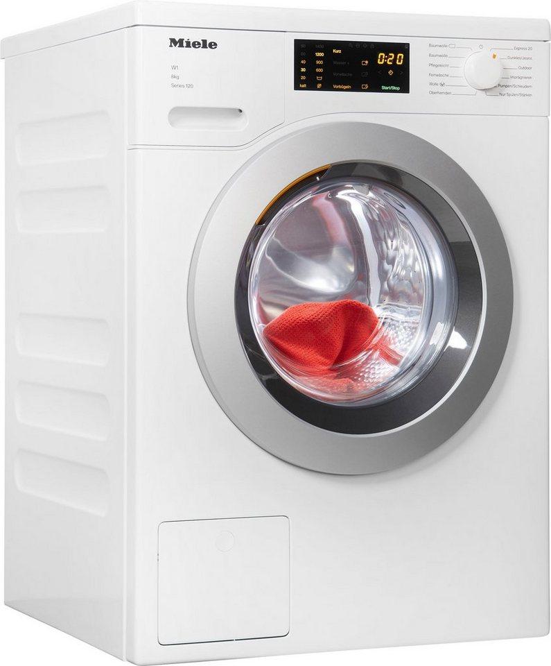 Miele Waschmaschine 120 WDD 025 WPS 8kg Series 120, 8 kg, 1400 U/Min online  kaufen | OTTO