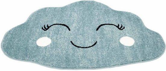 Kinderteppich »Bubble Kids 1324-X«, Carpet City, wolkenförmig, Höhe 12 mm