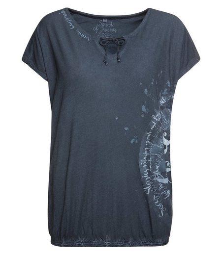 SOCCX T-Shirt mit Bindeband