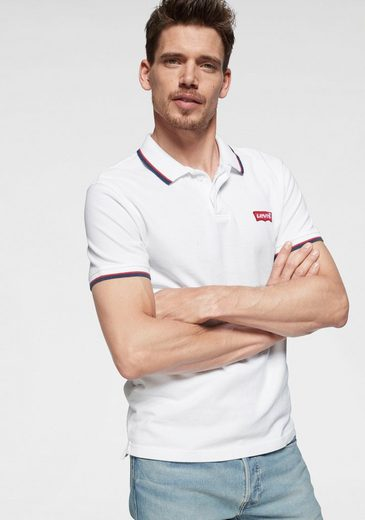 Levi's® Poloshirt Mit kontrastfarbenen Details