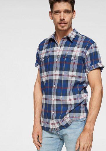 Levi's® Langarmhemd mit Karos