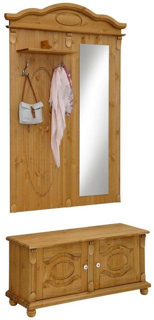 Garderoben Sets - Home affaire Garderobenschrank »Bavaria«  - Onlineshop OTTO