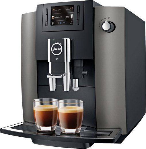 JURA Kaffeevollautomat E6 Dark Inox