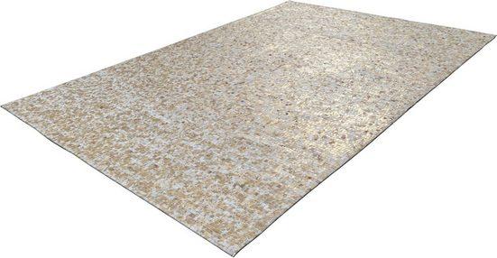 Lederteppich »Finish 100«, Arte Espina, rechteckig, Höhe 5 mm, echtes Kuhfell, Wohnzimmer