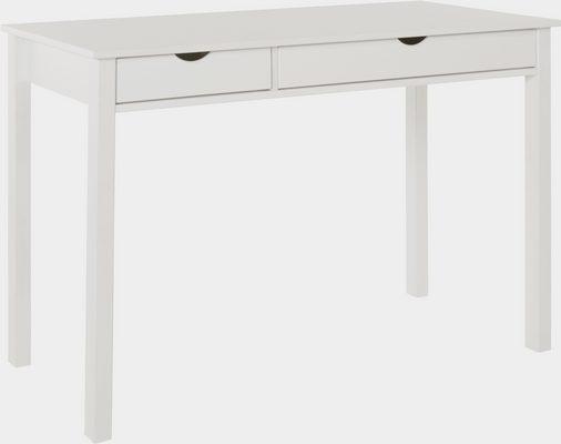 Schreibtisch »Gava«, aus massivem Kiefernholz und schönen eingefrästen Griffmulden, Breite 120 cm