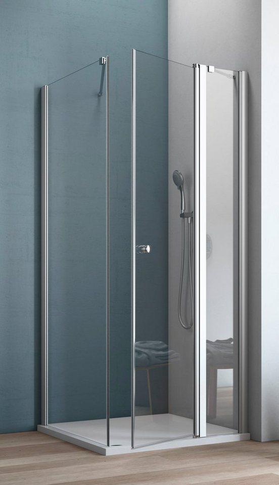MAW Eckdusche »AF200«, 90 x 90 cm | Bad > Duschen > Duschen | maw