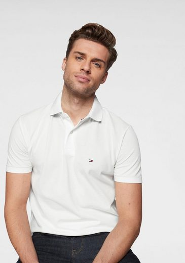 TOMMY HILFIGER Poloshirt »UNDER COLLAR PRINT REGULAR POLO«