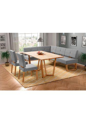 Kampinis virtuvės suolas su kėdėmis »P...