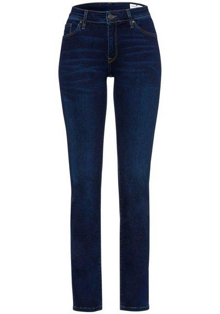 Hosen - Cross Jeans® Slim fit Jeans »ANYA« High Waist › blau  - Onlineshop OTTO