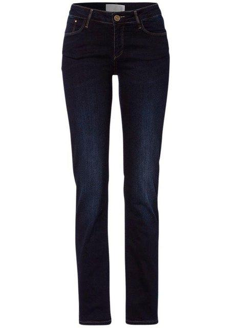 Hosen - Cross Jeans® High waist Jeans »Rose« Regular Fit Jeans mit hoher Taille › blau  - Onlineshop OTTO