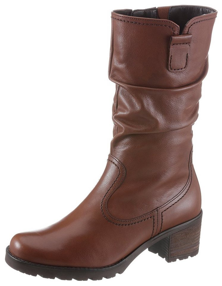 new style 8540f 725a2 Gabor Stiefel mit Raffungen am Schaft kaufen | OTTO