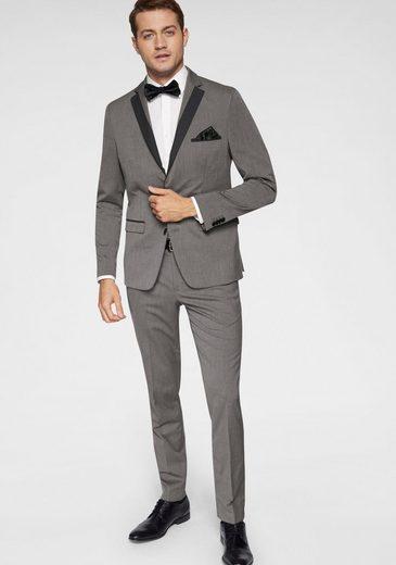 Bruno Banani Anzug 4-teilig (4-tlg) inklusive Fliege und Einstecktuch