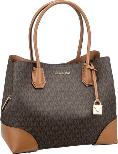 f6b4bf5571ce8 MICHAEL KORS Handtasche »Mercer Gallery Medium Center Zip Tote MK Signature«
