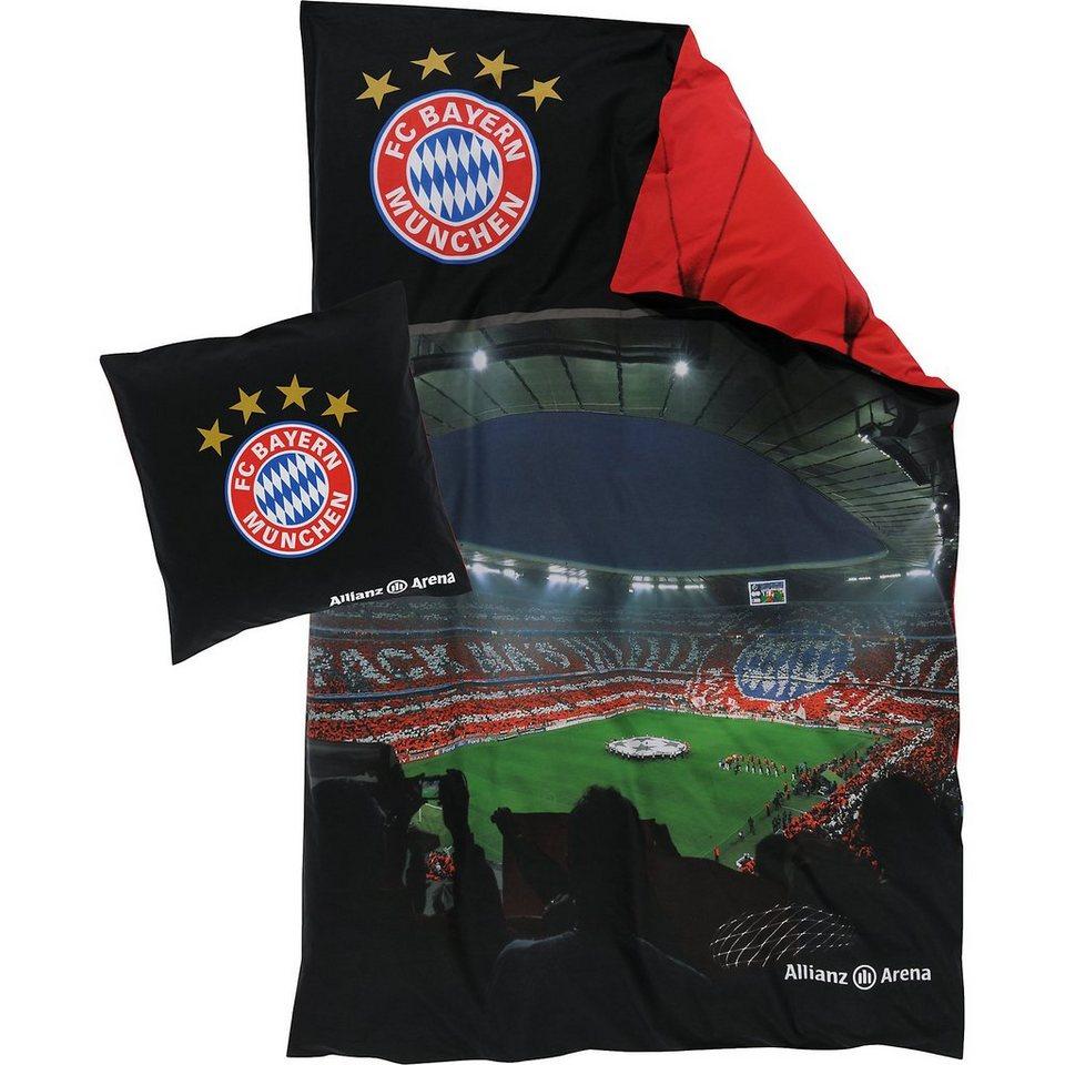 Fc Bayern Bettwäsche Allianz Arena Online Kaufen Otto