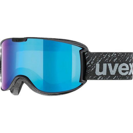 Uvex Skibrille Skyper LM black matt