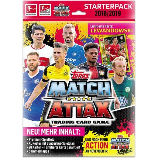 Topps Match Attax STARTERPACK XL 2018/2019