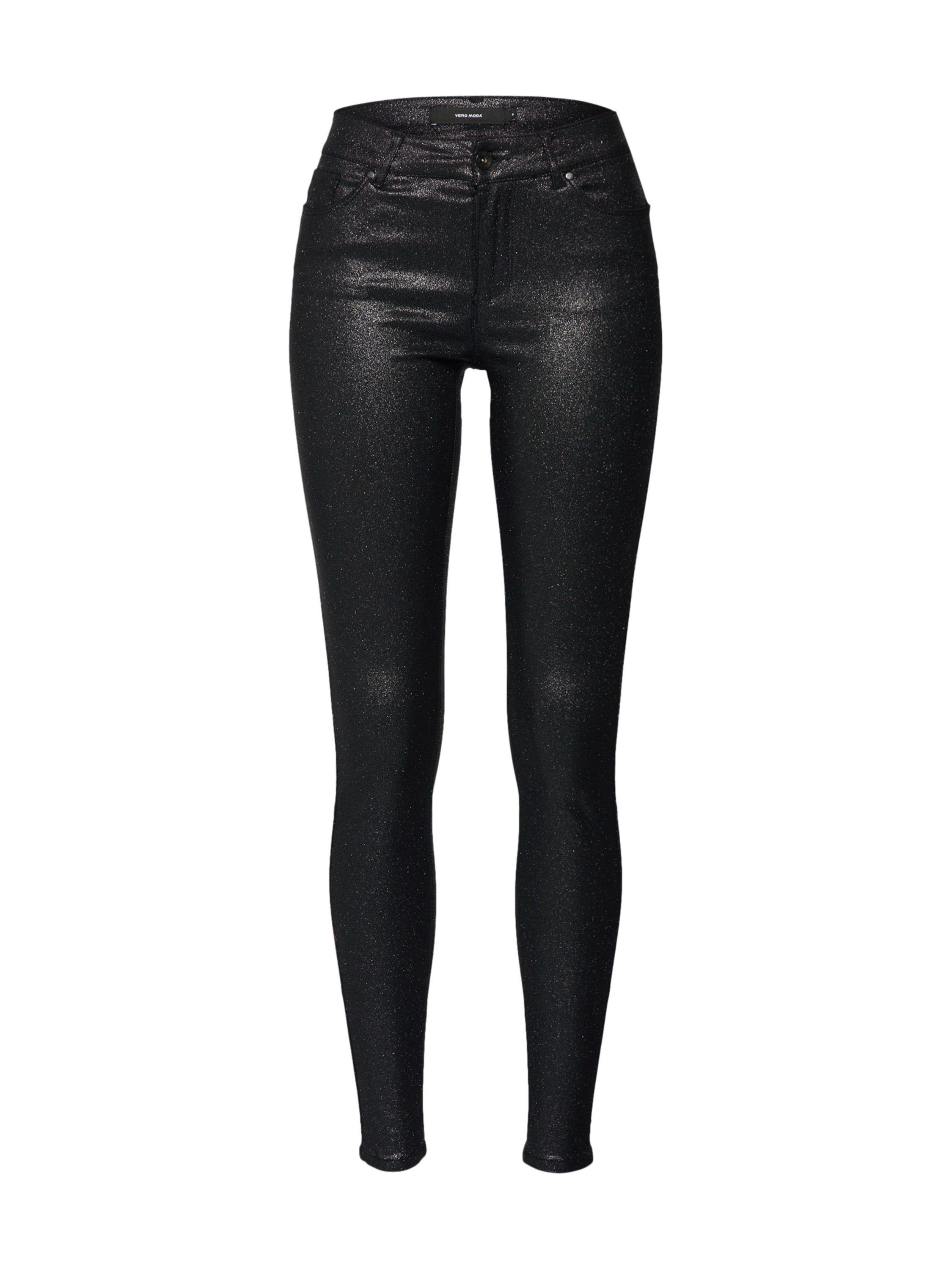 Vero Moda Leggings »VMSEVEN MR SLIM GLITTER PANT«