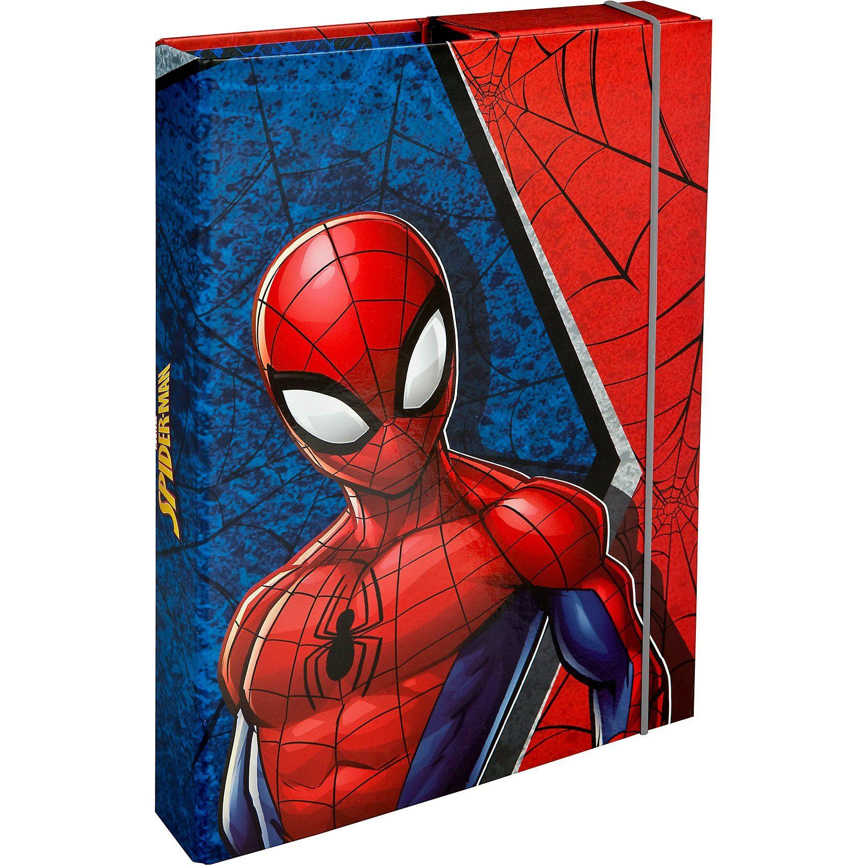 UNDERCOVER SPID0940 Heftbox A4 Spider-Man