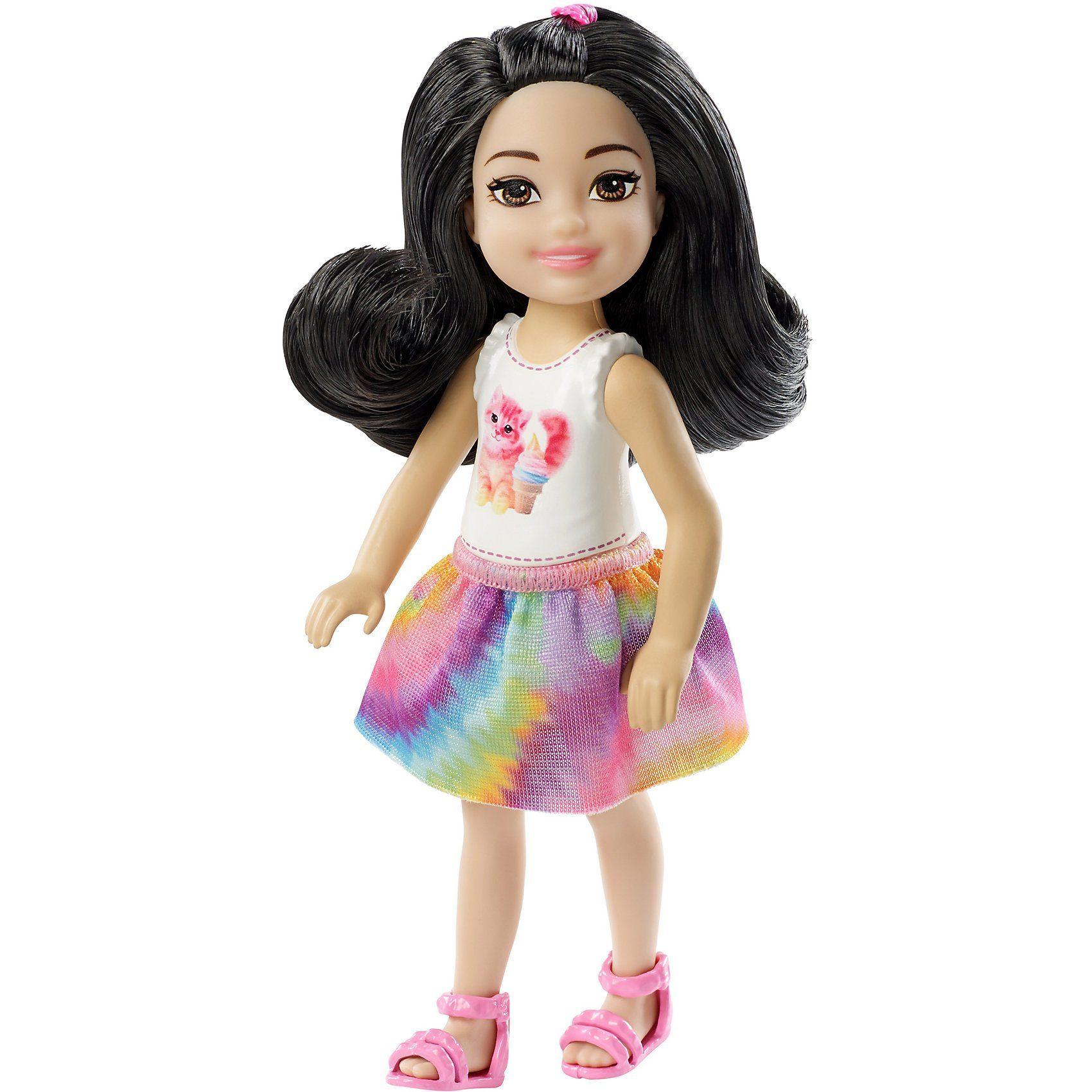 Mattel® Barbie Chelsea Puppe mit Kätzchen-Oberteil