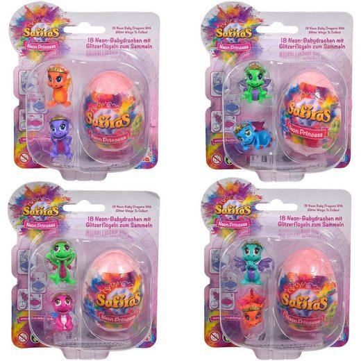 SIMBA Safiras V, 105951018 Neon Princess, 3er Pack