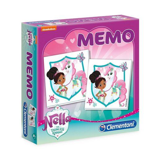 Clementoni® Memo Game - Nella, die Ritterprinzessin