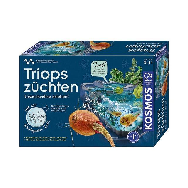 Image of KOSMOS 633097 - Triops Züchten, Urzeitkrebse, Komplett Set mit Eiern, Futter und Sand.