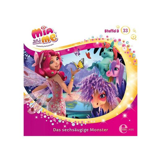 Edel CD Mia and me 33 - Sechsaugen Monster