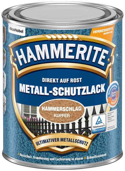 Hammerite Metallschutzlack »Hammerschlag«, 0,25 Liter, braun