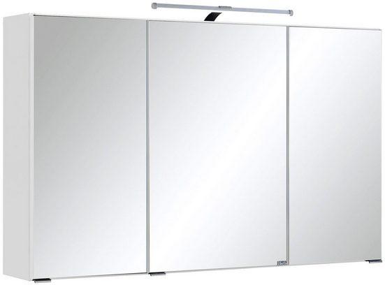 HELD MÖBEL Spiegelschrank »Texas« Breite 90 cm, mit LED-Beleuchtung