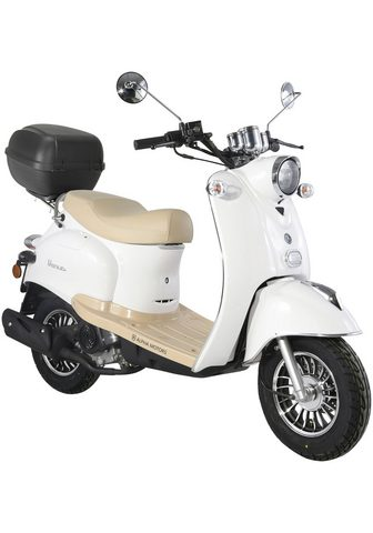 ALPHA MOTORS Motoroleris »Venus« 50 ccm 45 km/h wei...