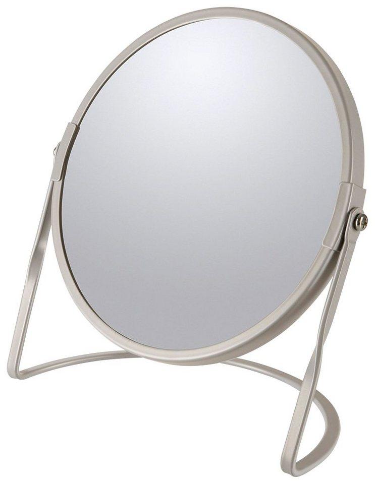 Kosmetikspiegel »AKIRA«, mit 5-fach Vergrößerung | Bad > Bad-Accessoires > Kosmetikspiegel | Braun | spirella