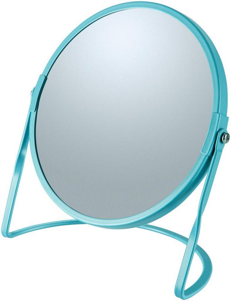 Kosmetikspiegel »AKIRA«, mit 5-fach Vergrößerung | Bad > Bad-Accessoires > Kosmetikspiegel | Blau | spirella