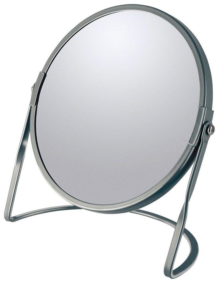 Kosmetikspiegel »AKIRA«, mit 5-fach Vergrößerung | Bad > Bad-Accessoires > Kosmetikspiegel | Grau | spirella