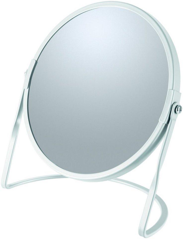 Kosmetikspiegel »AKIRA«, mit 5-fach Vergrößerung | Bad > Bad-Accessoires > Kosmetikspiegel | Weiß | spirella