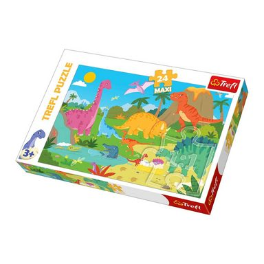 Trefl Maxi Puzzle 24 Teile - Dinosauriers Welt