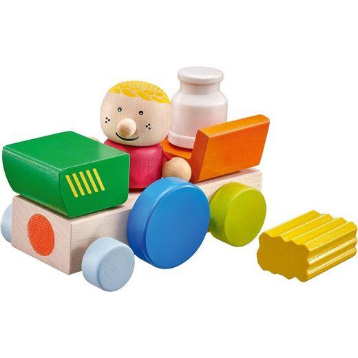 Selecta Bauernhof, Klett-Stapelspielzeug, 7 Teile