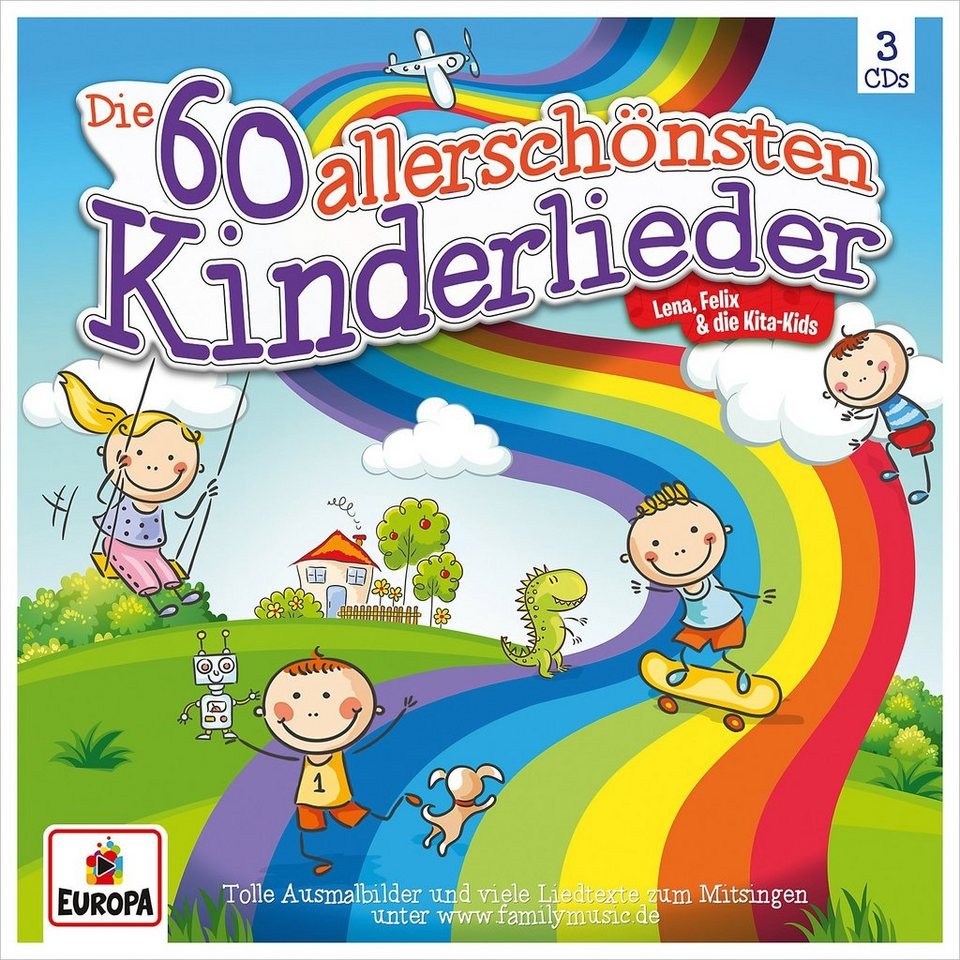 Sony Cd Die 60 Allerschönsten Kinderlieder 3 Cds Otto