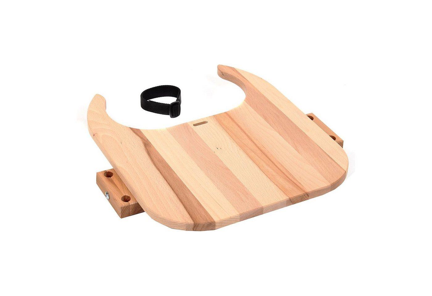 Tobi Tischplatte Hochstuhlumrüstsatz für babybay Original, Maxi u | Kinderzimmer > Kinderzimmerstühle > Hochstühle | Braun | Tobi