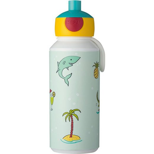 Rosti Mepal Mepal Trinkflasche pop-up campus Doodle, 400 ml