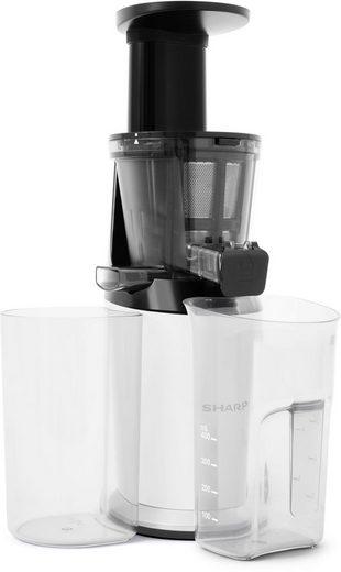Sharp Slow Juicer SA-FJ3001W, 150 W