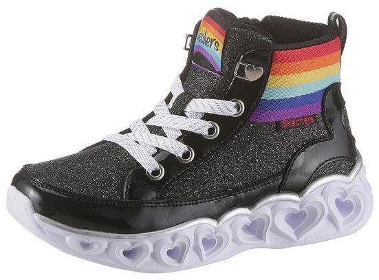 Skechers Kids »Heart Lights« Sneaker mit blinkenden Herzchen in der Laufsohle