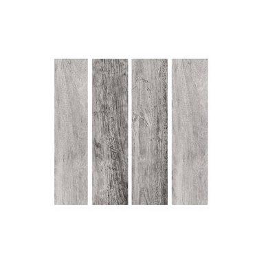 RoomMates Wandsticker Gray Barn Wood Planks, 16-tlg.