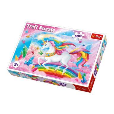 Trefl Puzzle 100 Teile Unicorns
