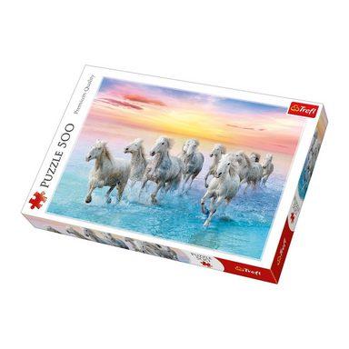 Trefl Puzzle 500 Teile - weiße Pferde