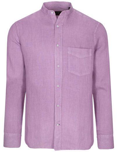 COMMANDER Leinenhemd »Tailored Fit« mit Brusttasche