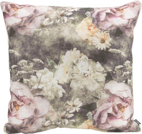 H.O.C.K. Dekokissen »Floral Passio«, mit schönen Blumenmotiven