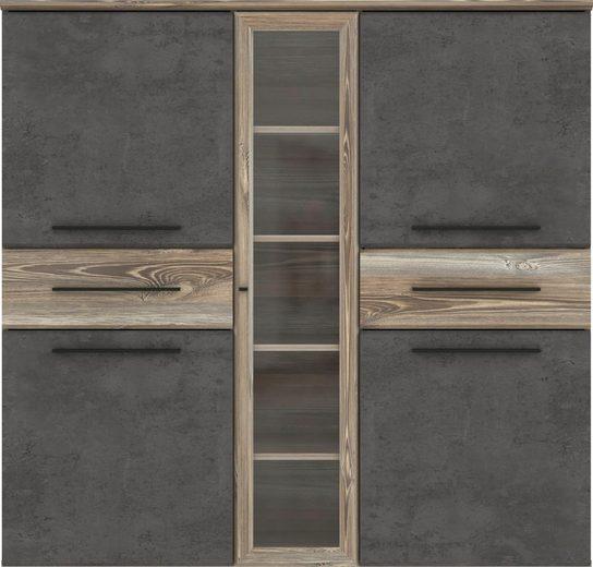 FORTE Highboard »MINDI«, Breite 139,6 cm