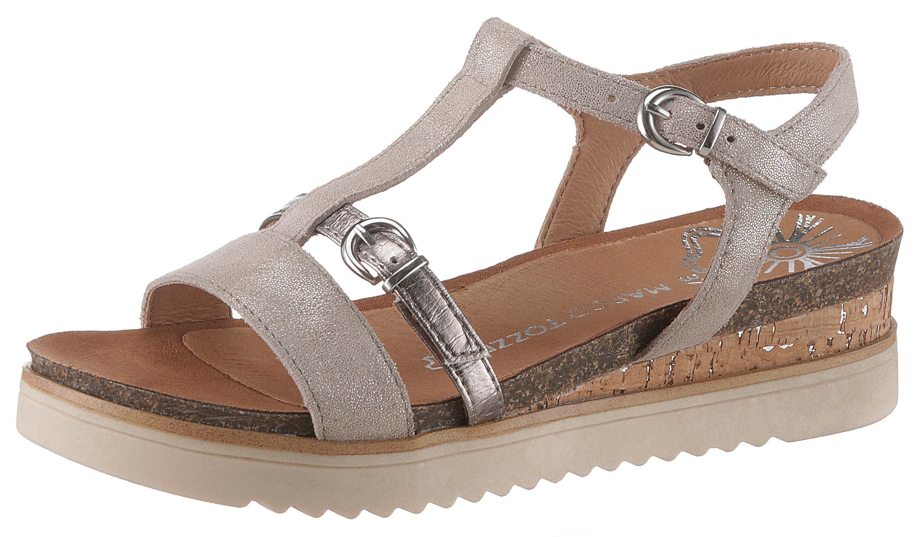 MARCO TOZZI Sandalette mit Metallicdetails kaufen | OTTO